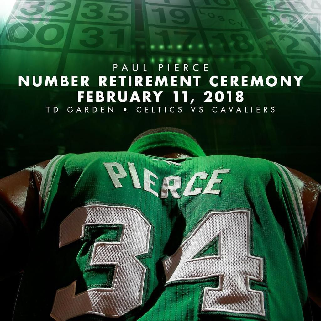 Le maillot de Paul Pierce sera retiré le 11 février