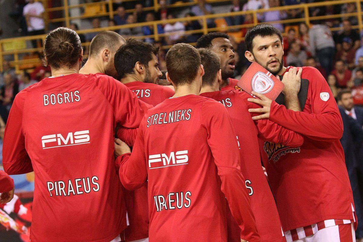 L'Olympiakos débute sa saison en Euroleague par une victoire contre Vitoria