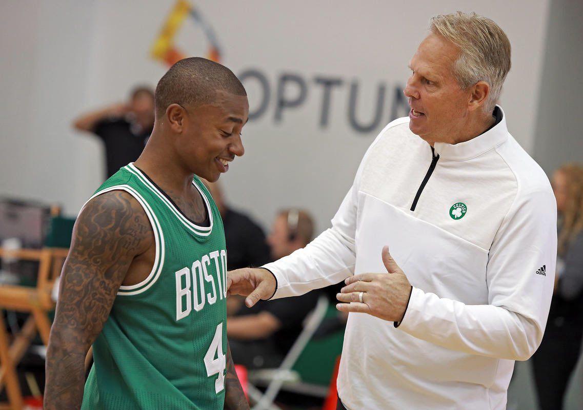 Pour Danny Ainge, Isaiah Thomas fait partie de l'histoire des Celtics pour toujours