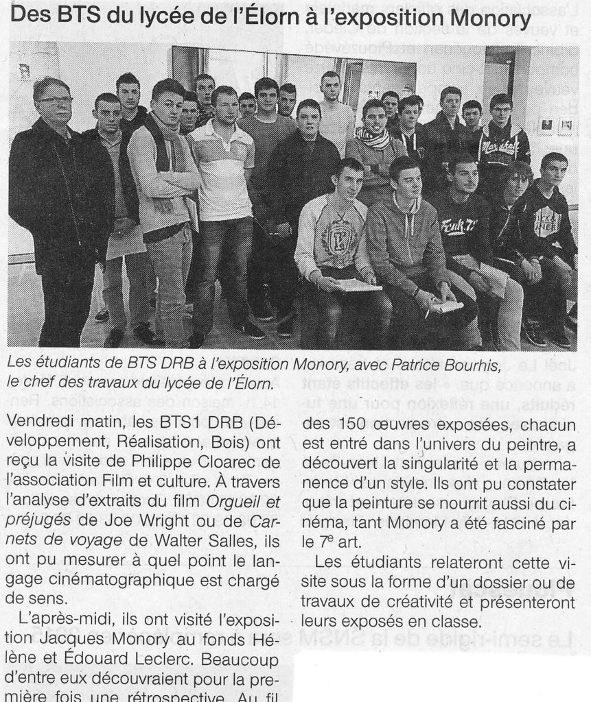 Ouest-France - 29/01/2015