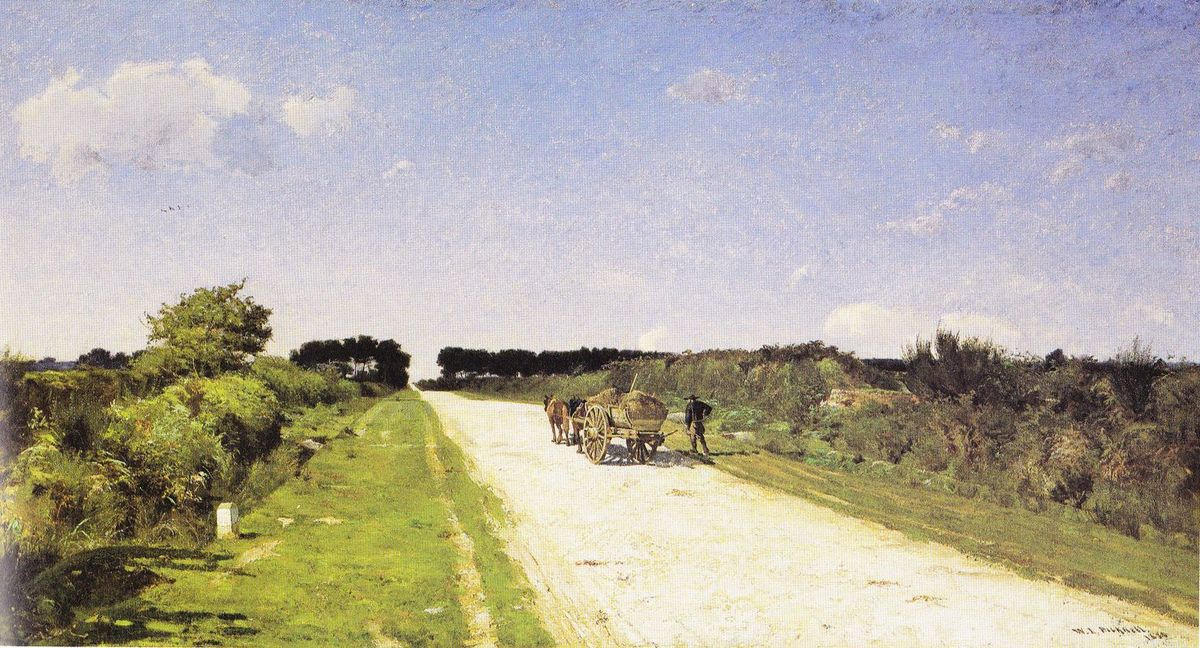 William Lamb Picknell, Sur la route de Concarneau