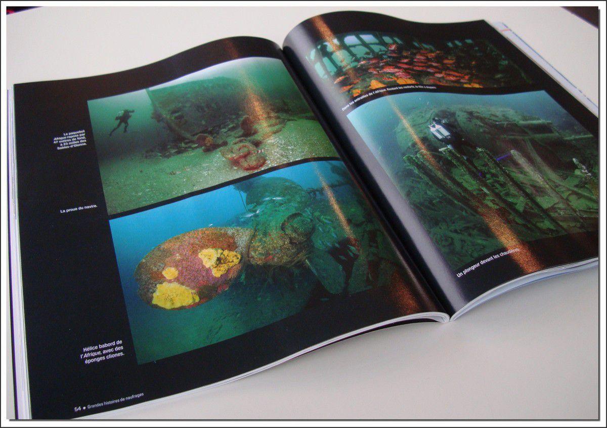 A lire : Grandes histoires de naufrages