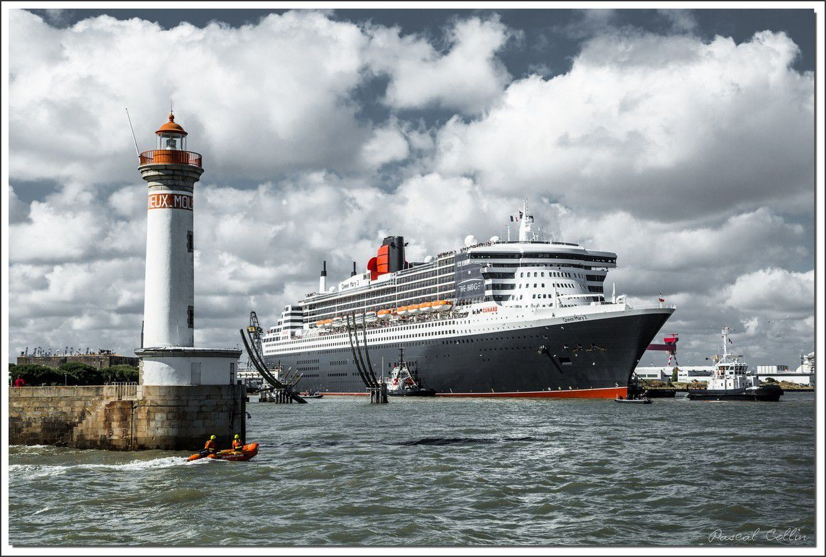 Le retour du Queen Mary 2