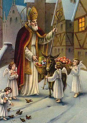 Saint NICOLAS, évêque, patron des écoliers  —  6 Décembre