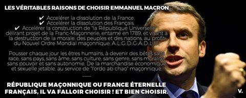 La France n'est pas la république. La république est anti-France et anti-Français, parce qu'anti-Christ