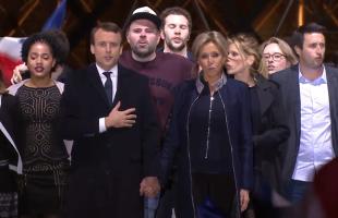 Emmanuel Macron est franc-maçon dans la super-loge « Fraternité verte »  et dans la  super-loge « Atlantis Aletheia »