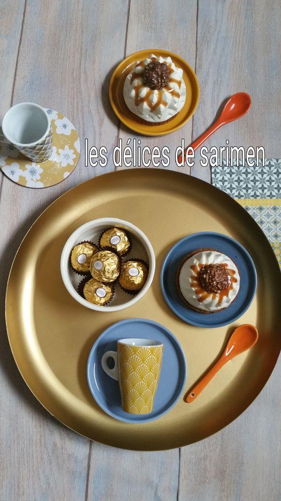 Cheeses-cakes sans cuisson aux Ferrero rocher (2)