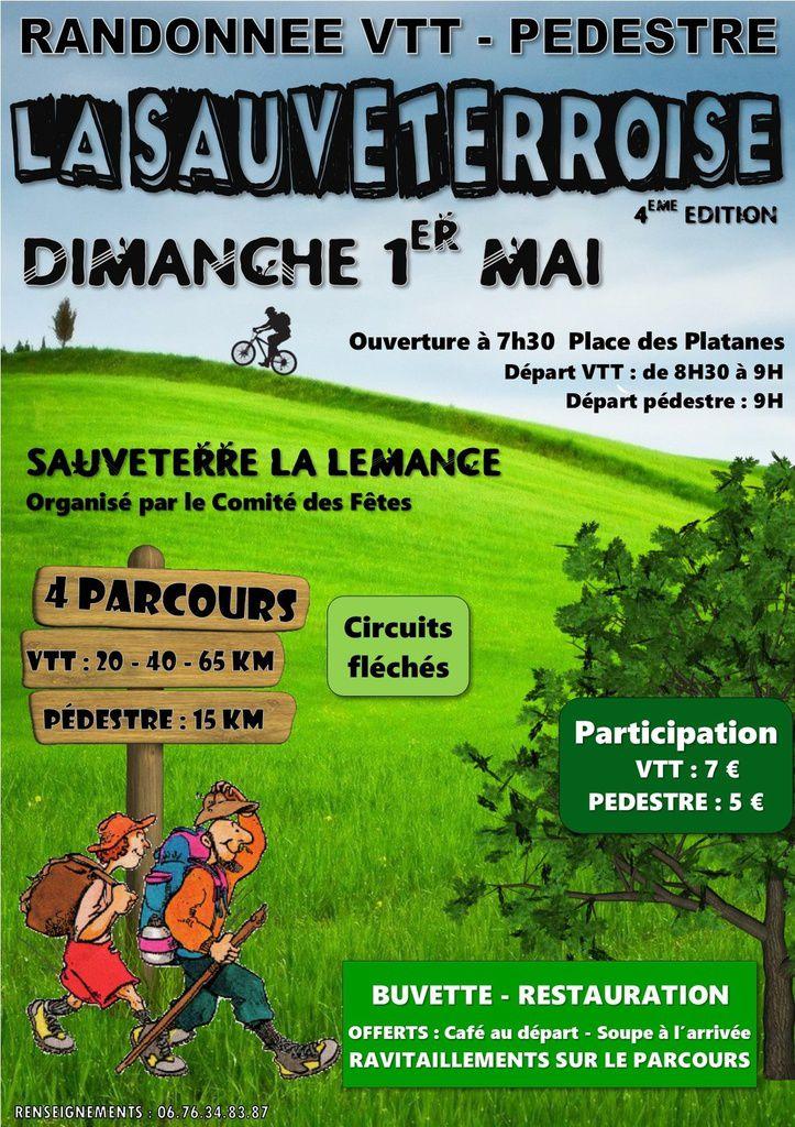 Dim 1° Mai: La Sauveterroise (Sauveterre la Lémance)
