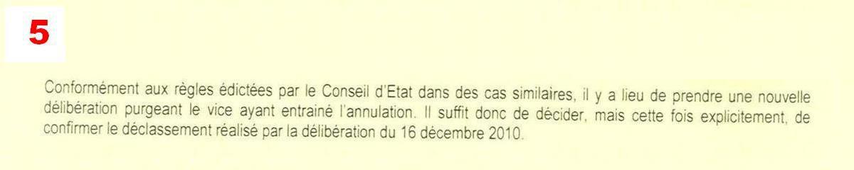 M. l'avovat est bien incapable de citer des références du Conseil d'Etat justifiant son affirmation.