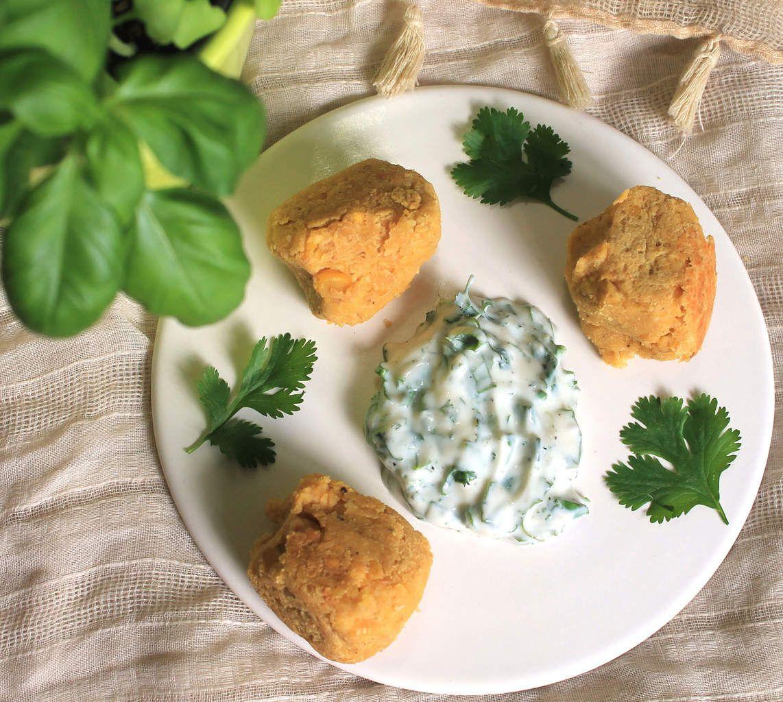 Boulettes de pois chiches au lait de coco et épices (recette végétalienne et sans gluten)