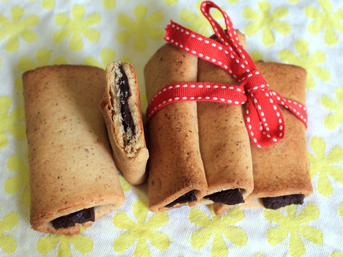 """""""Kango"""" végétaliens (biscuits fourrés au chocolat)"""