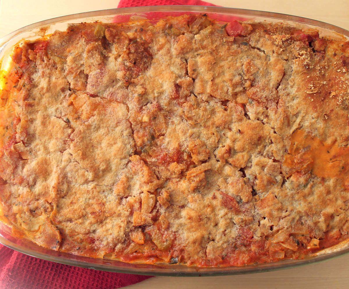 Lasagnes façon bolognaise (version végétalienne)