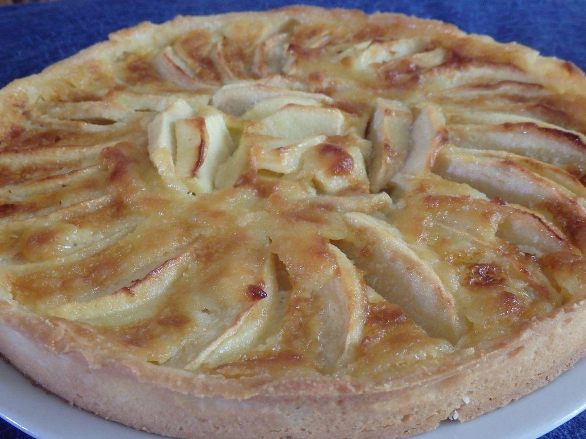 Tarte normande aux pommes pour Culino Versions