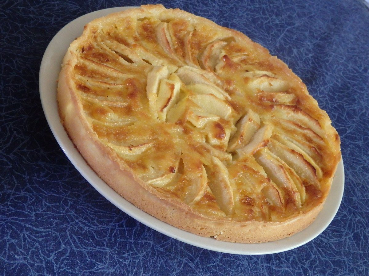 tarte normande aux pommes pour culino versions le blog de michelle plaisirs de la maison. Black Bedroom Furniture Sets. Home Design Ideas