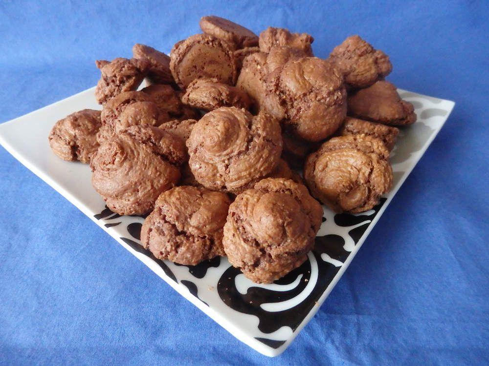 Macarons au chocolat (bredele)