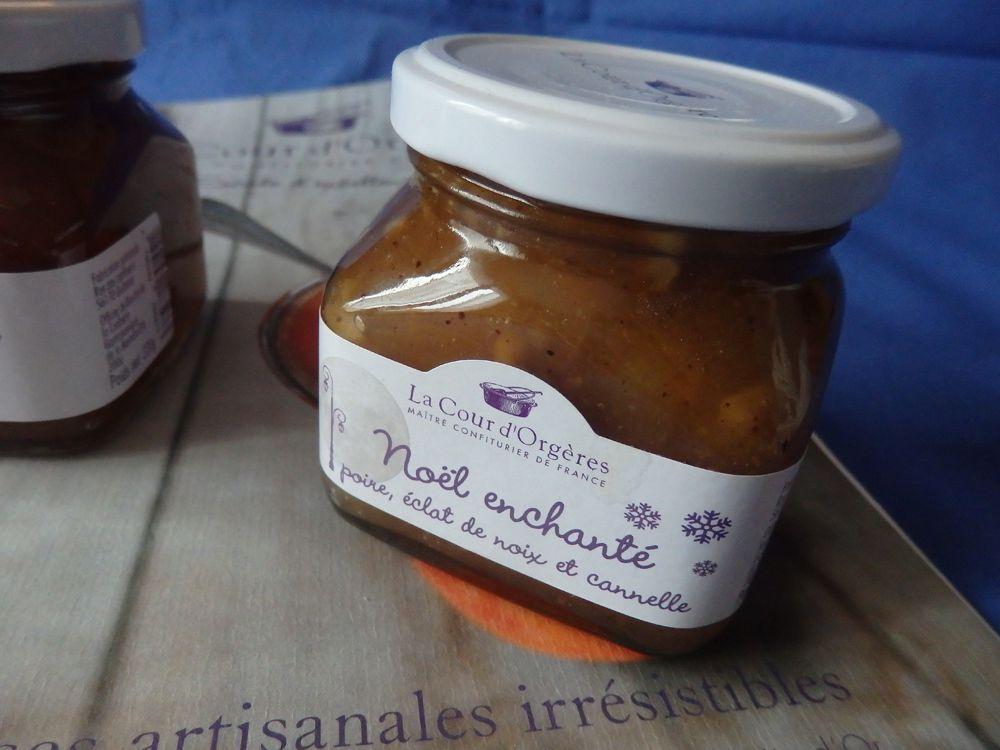 Mini tourtes confiture de poires, noix et cannelle et crumble