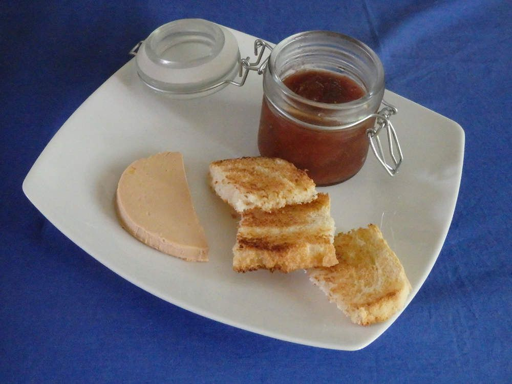 chutney de figues et foie gras le blog de michelle plaisirs de la maison. Black Bedroom Furniture Sets. Home Design Ideas