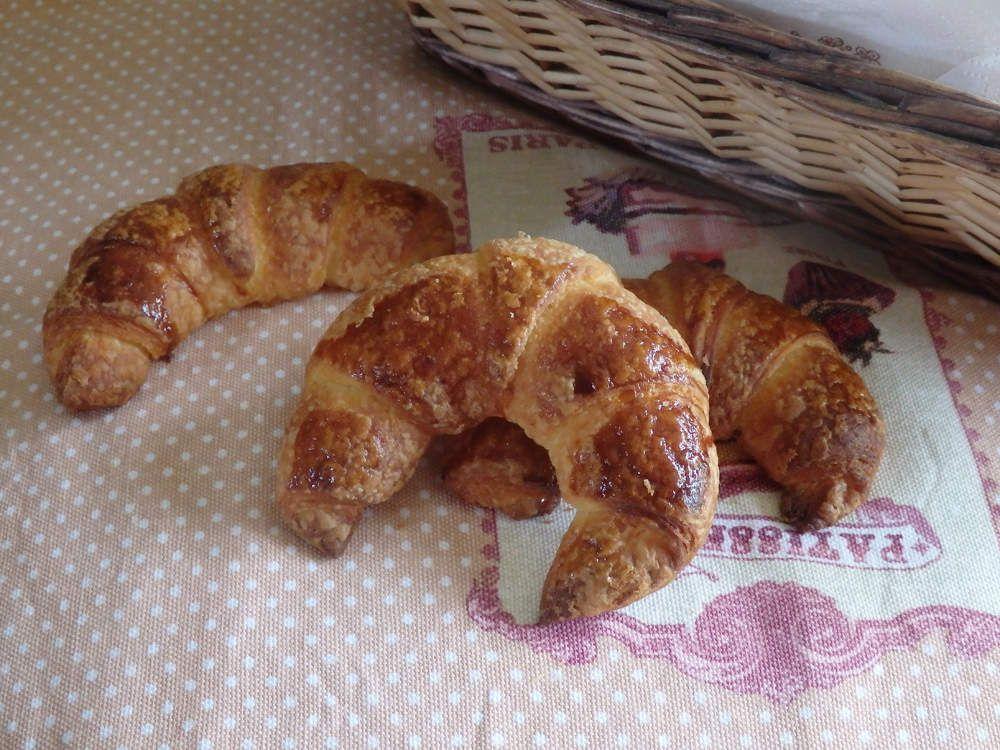 Pâte à couque pour viennoiseries feuilletées : croissants