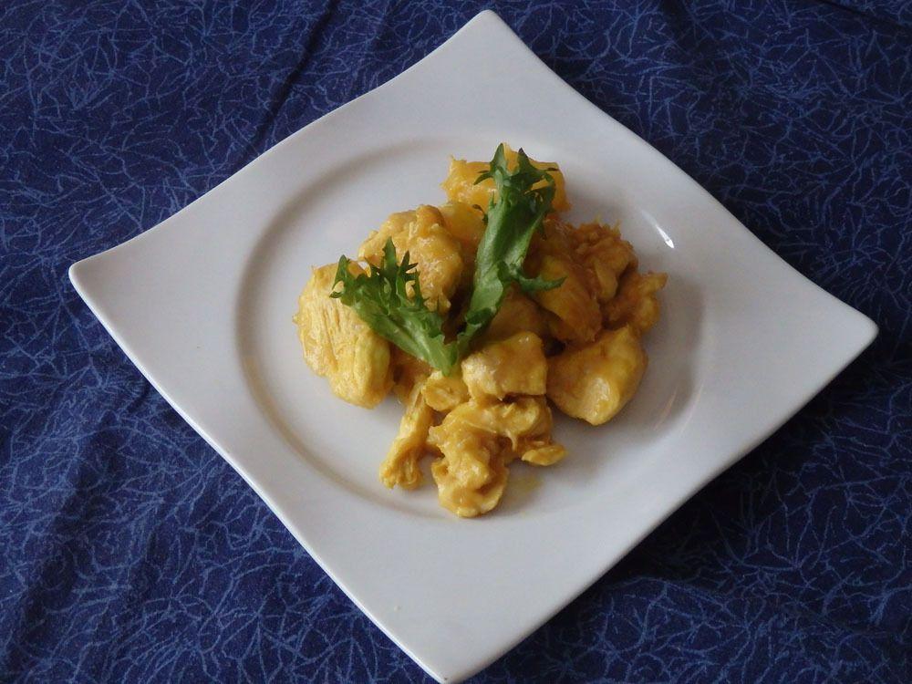Poulet à l'ananas et au gingembre