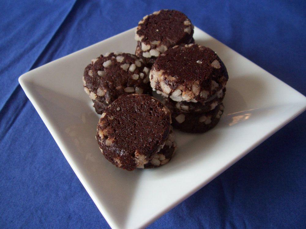 Sablés cristallisés intense cacao
