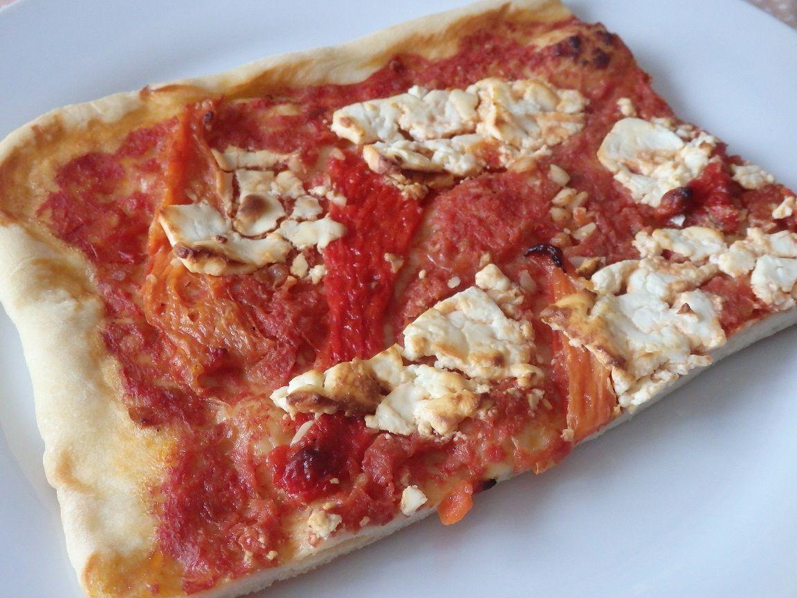 La pizza cuite
