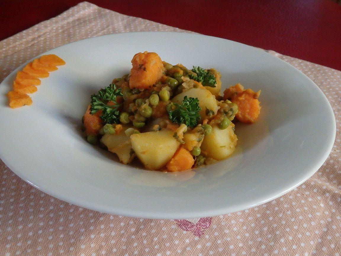 Tajine pommes de terre patate douce le blog de michelle plaisirs de la maison - Bouture de patate douce ...
