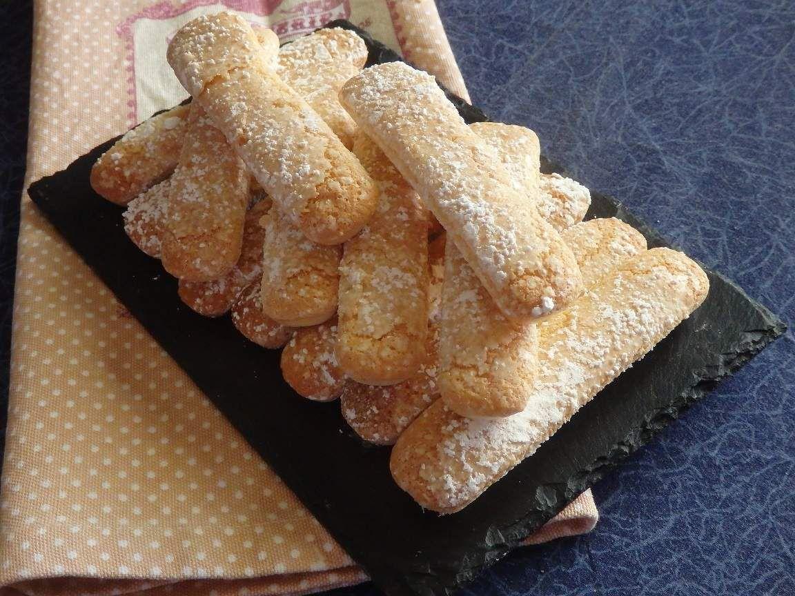 Biscuits à la cuillère maison (recette C A P pâtissier)