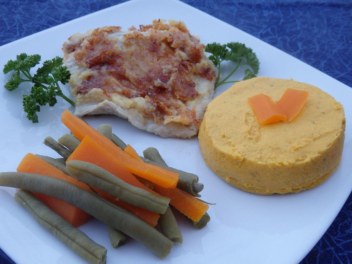 Flan de carottes au thym