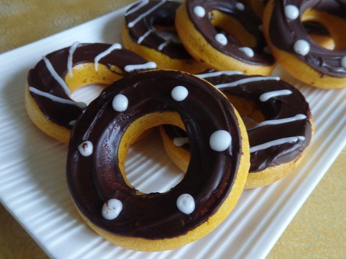 Donuts citrouille à l'américaine