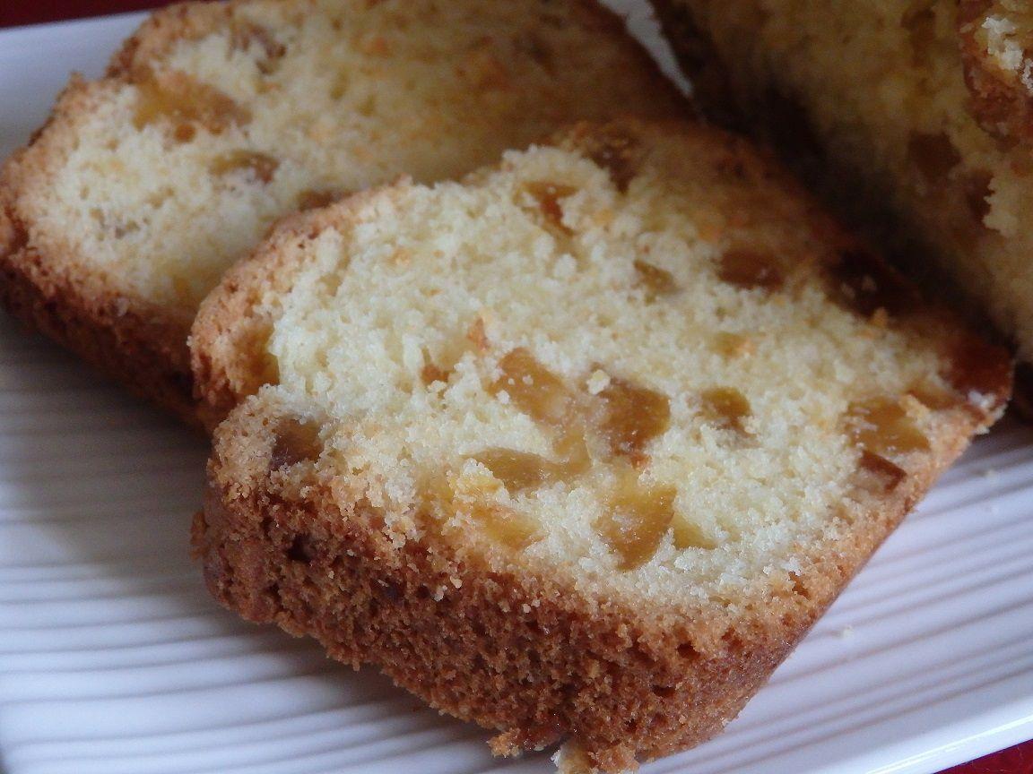 Cake au cédrat confit et au limoncello