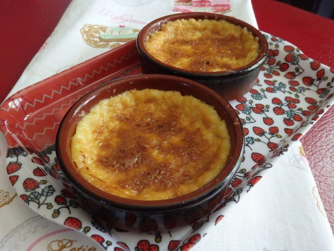 Crème brûlée au caramel au beurre salé