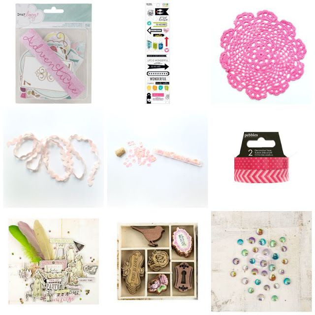 Kit d'embellissements:  Kit Embellishments: