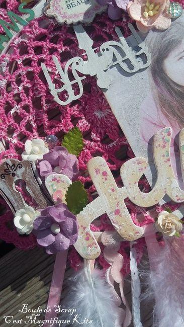 Dreamcatcher pour &quot&#x3B;C'est Magnifique Kits&quot&#x3B;