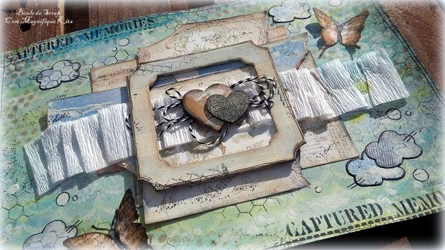 Page Art Journal, C'est Magnifique Kits DT