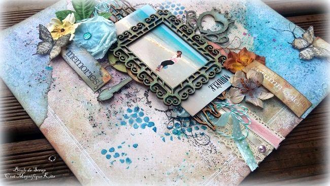 Page &quot&#x3B;Fall Memories&quot&#x3B; C'est Magnifique Kits DT