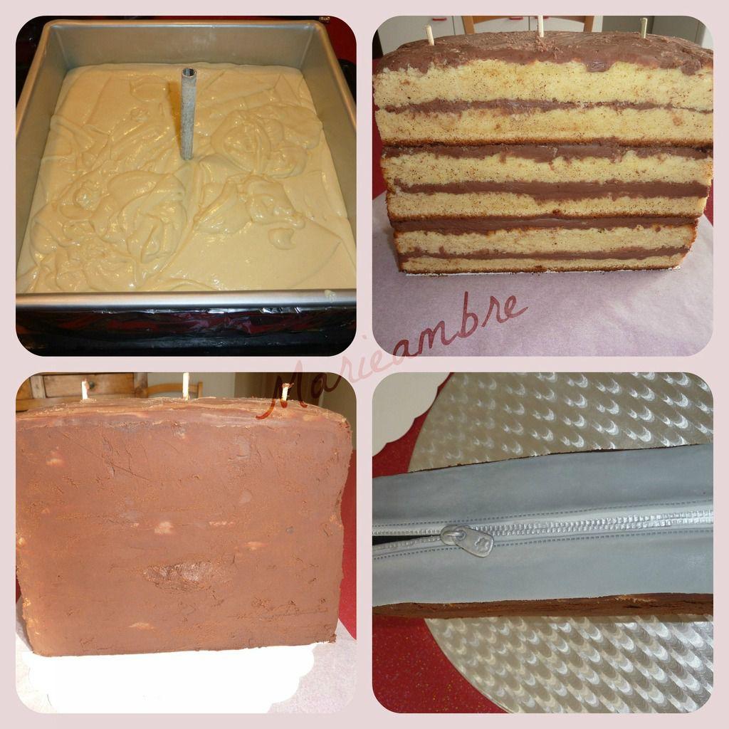 Molly cake, ganache chocolat au lait, masquage ganache chocolat noir