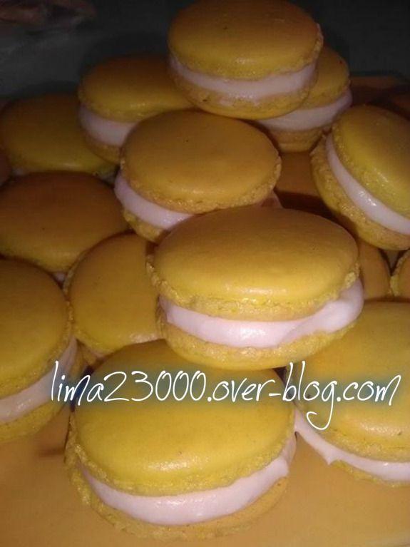 macarons vanille crème mousseline