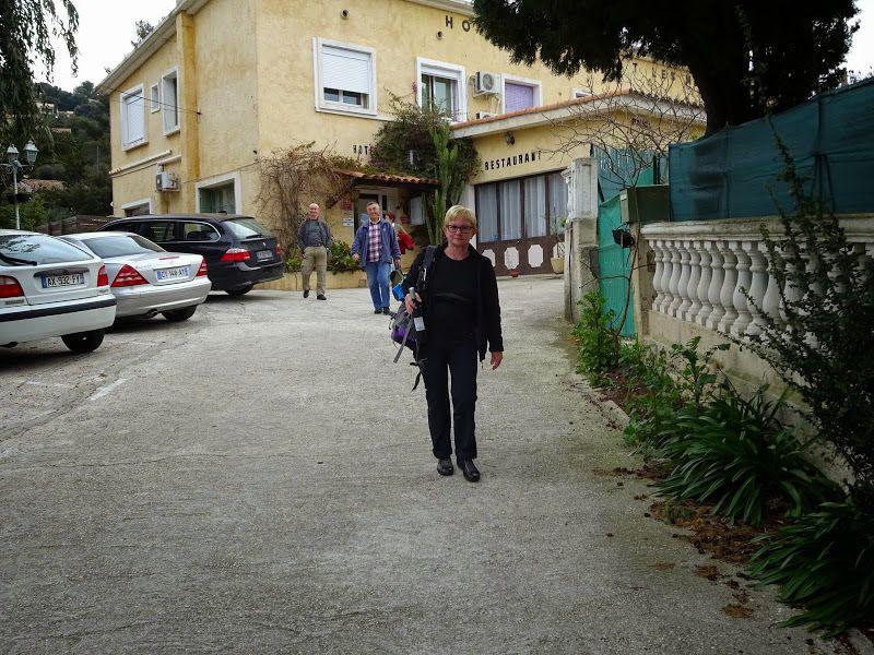Séjour à Collobrières et Bormes - jour 1
