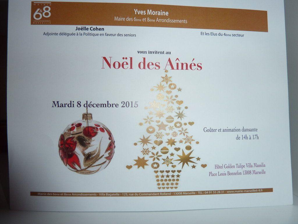 Noël des Ainés 2015...