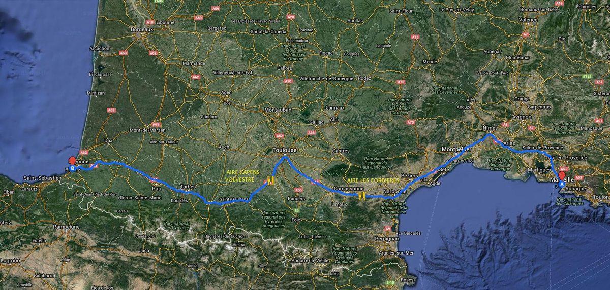 Notre séjour au Pays Basque (1)