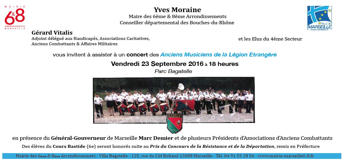 Concert des anciens musiciens de la Légion Etrangère