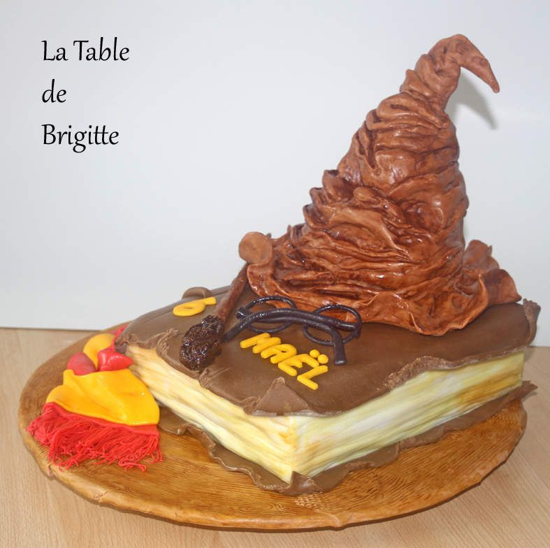 Gâteau &quot&#x3B; Harry Potter &quot&#x3B;