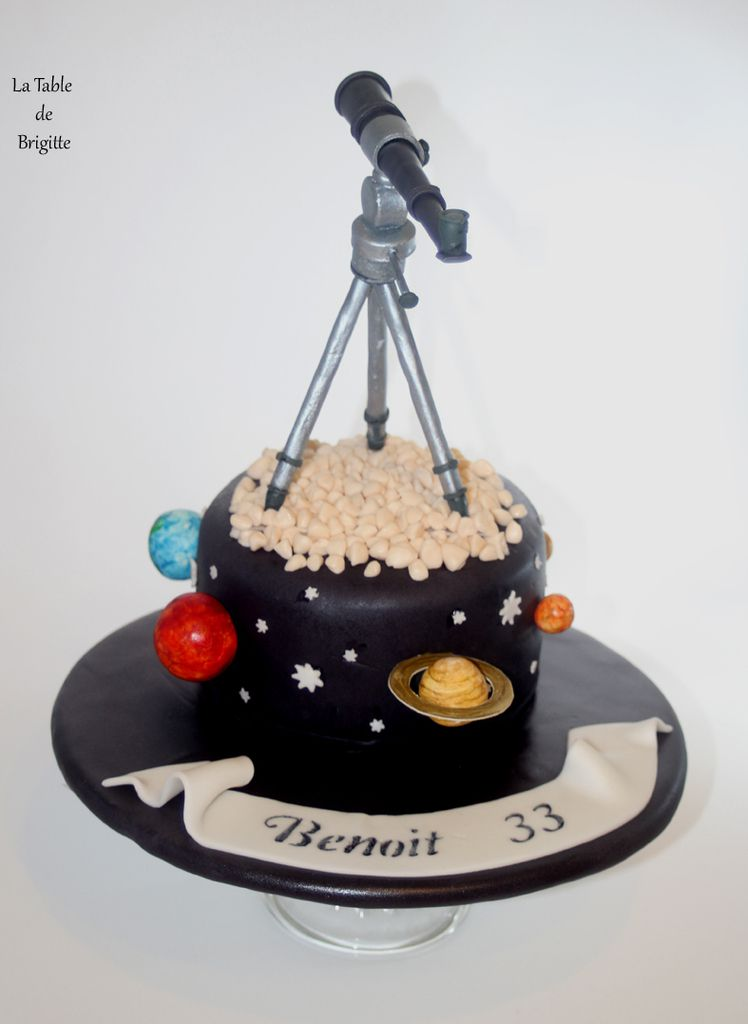 Gâteau astronomique