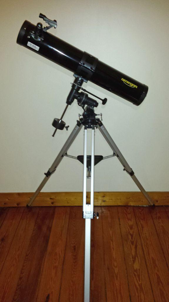 Et voici le téléscope offert