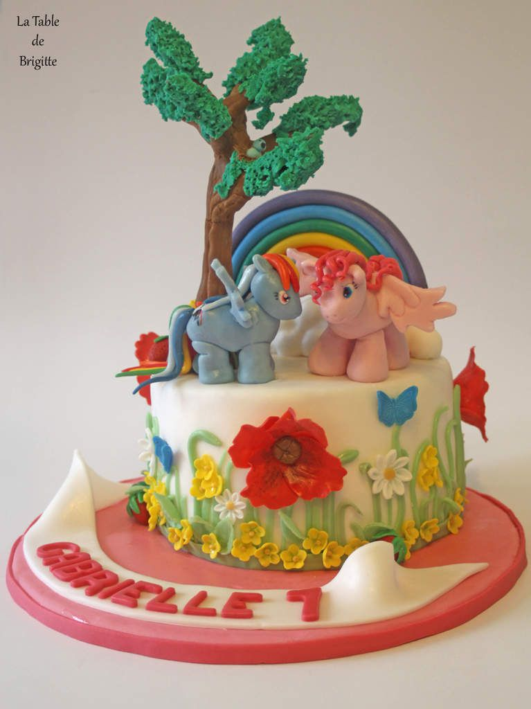 Gâteau Little Pony
