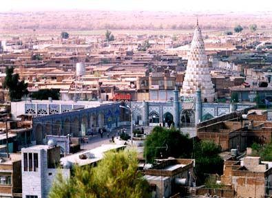 Le tombeau du prophète Daniel en Iran à Suze