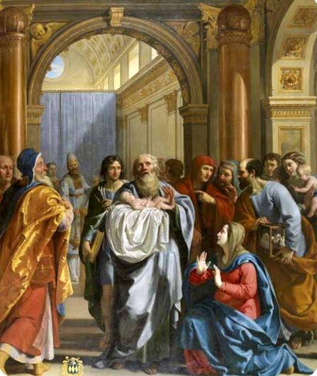 Philippe de Champaigne, La Présentation au Temple, vers 1630, musée des beaux arts Dijon,