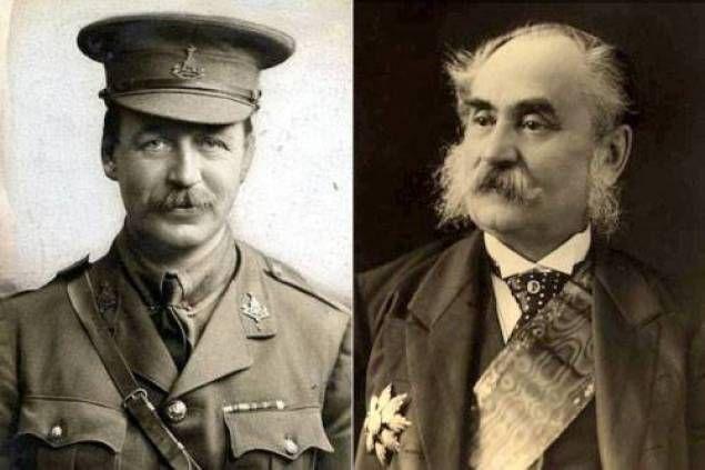 Mark Sykes et François Georges-Picot