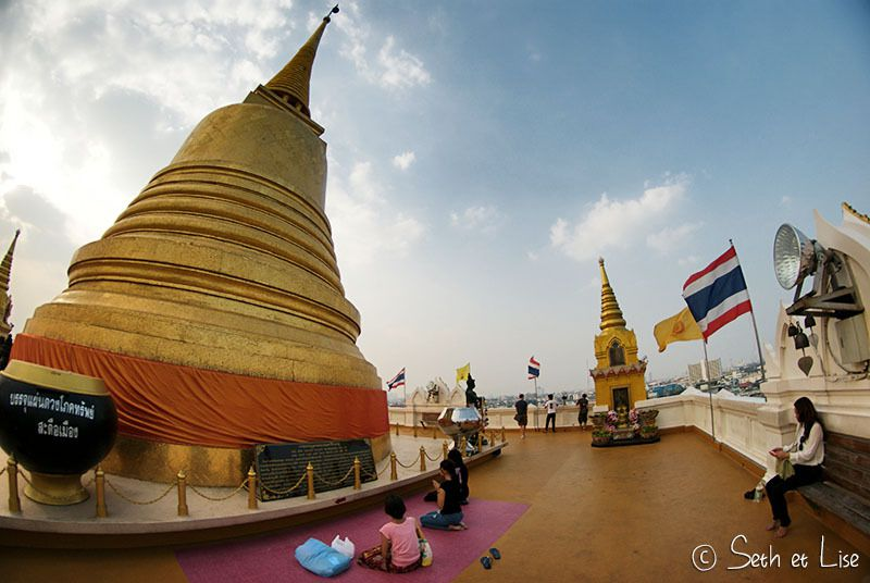 Wat Saket, la montagne d'or de Bangkok