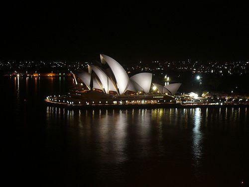 Sydney by night et Chinatown